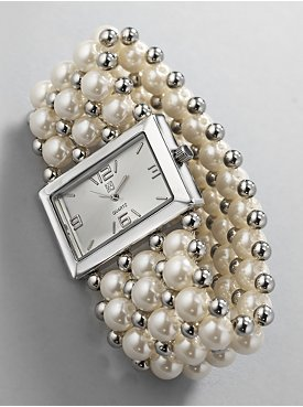 Pearl Bracelet Watches1