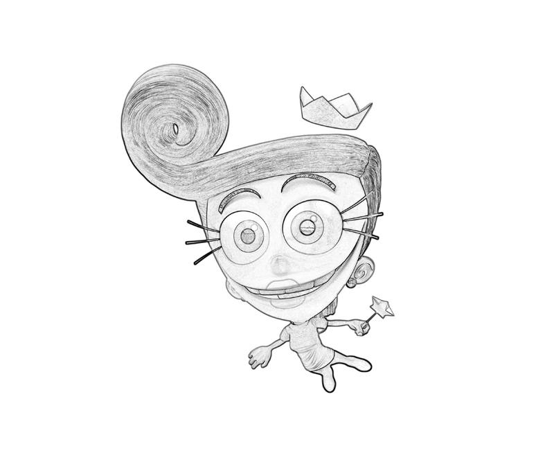 another fairly oddparents coloring pages