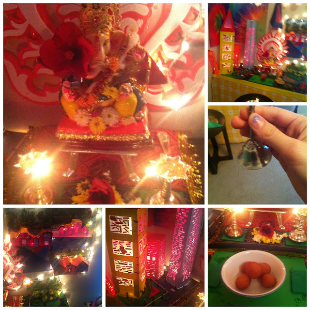idol place for ganesh