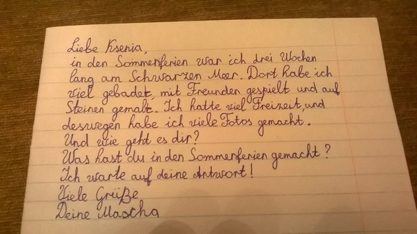 Briefe Schreiben 3 Klasse übungen : Deutsch mit anna klasse briefe schreiben
