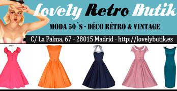 Vestidos años 50, pinup, rockabilly, swing, madmen...