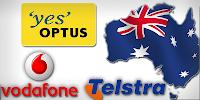 Unlock Telstra, Vodafone, Optus Australia