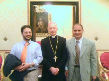 Salah Husein-Card. Angelo Bagnasco-Zahoor Ahmad Zargar