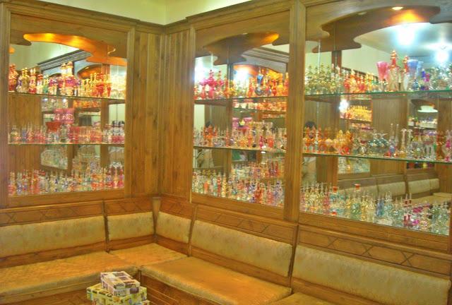 Viaje a Egipto: esencias y perfumes