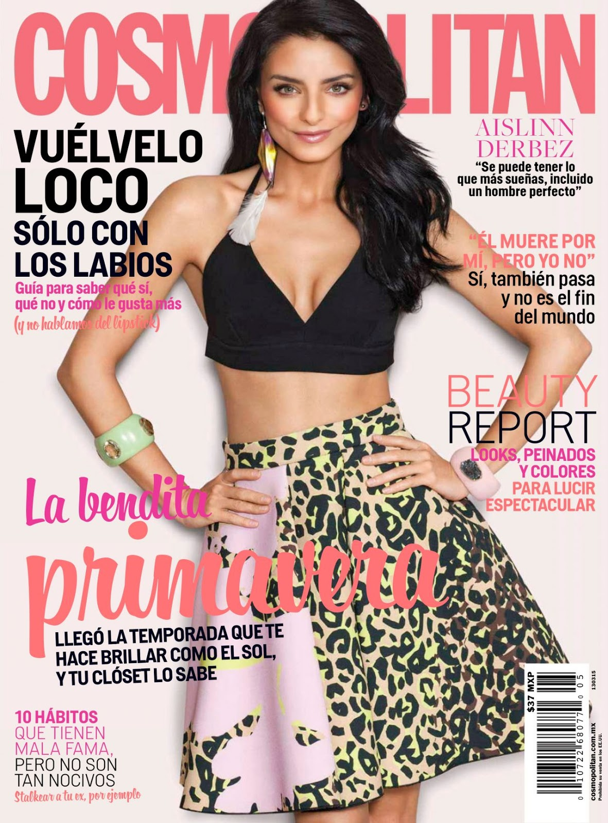 Actress, Model @ Aislinn Derbez - Cosmopolitan Mexico 2015 Issue