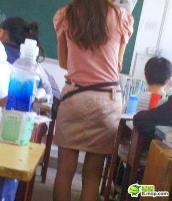 Ohsenyum Gambar Cikgu Seksi Dalam Kelas