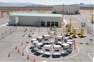 DNDO evaluating 39 different neutron detection technologies at the Nevada National Security Site
