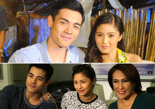 Kim Chiu and Xian Lim in Past Tense Movie