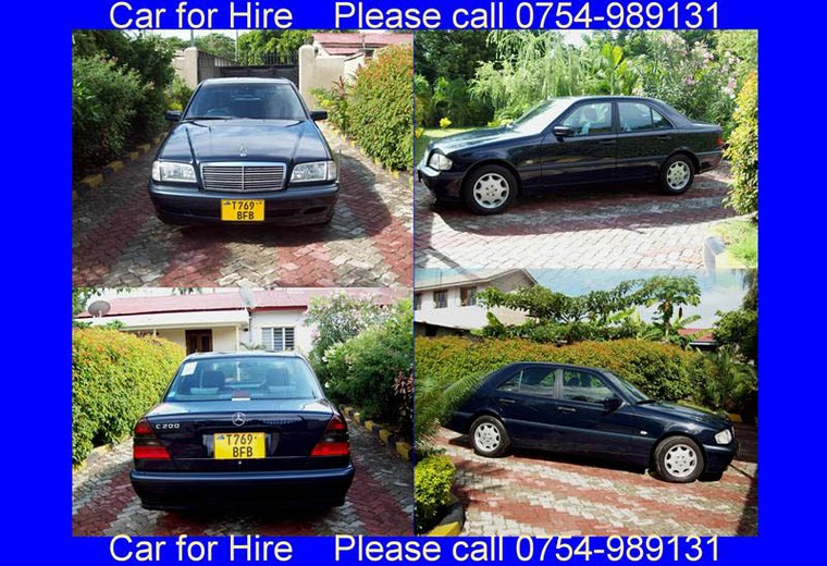 CAR FOR HIRE /GARI LINAKODISHWA