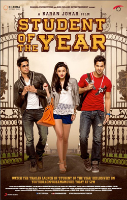 Student of the Year 2012 poster