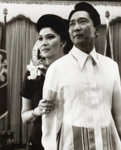 young marcos with imelda