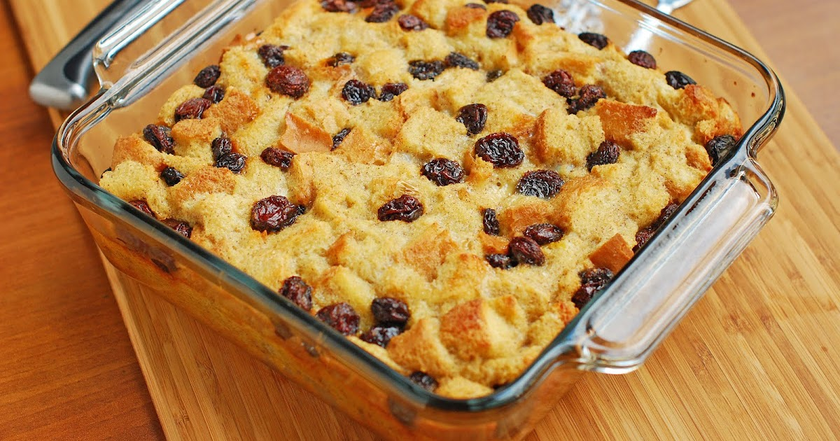 Bread Pudding Dessert Breakfast Recipe From My Home