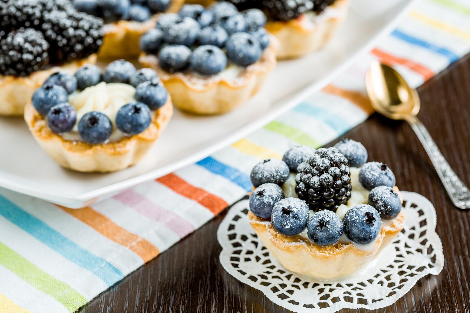 Корзиночки с ягодами рецепт 189