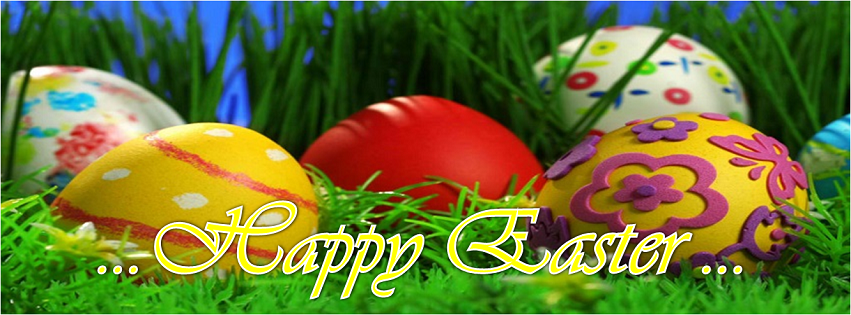 Beautiful HD Happy Easter 2014 Facebook Profile and Page Covers
