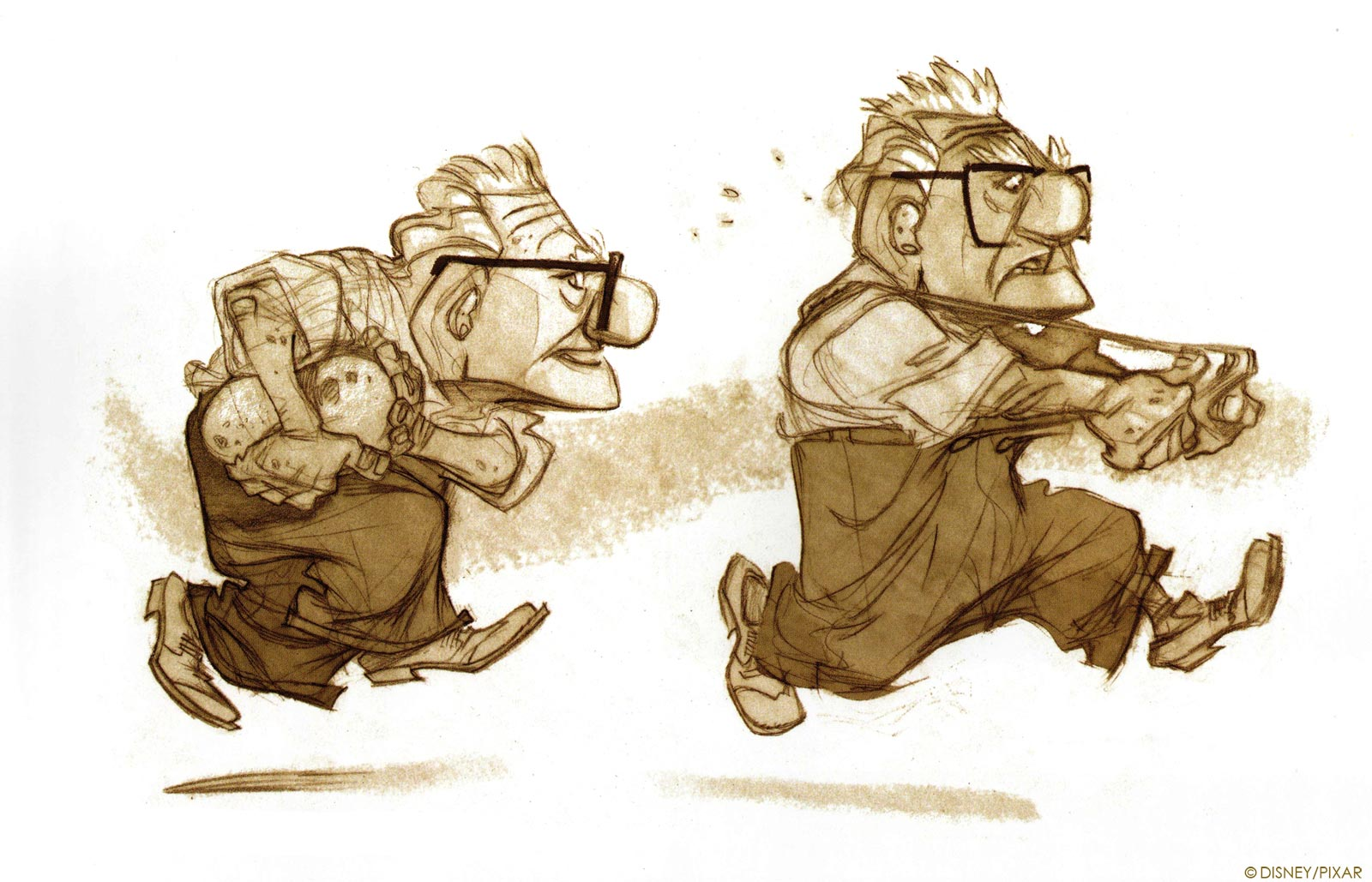 Character Design Concept Artist : Art of up the animation