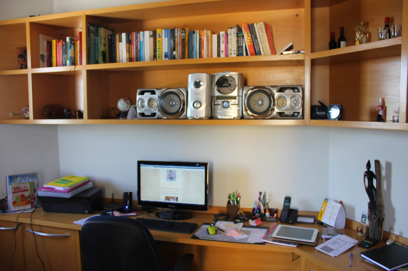 Sala De Tv Com Home Office ~   Projeto revitalização e organização da sala de tvhome office