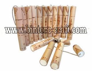 Contoh Undangan Bambu