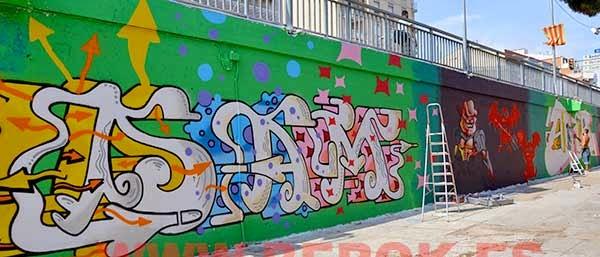 Graffitis San Adrián del Besós