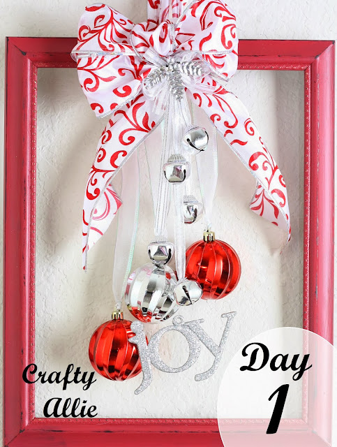 12 days of christmas day 1 christmas ornament frame door for 12 days of christmas door decoration