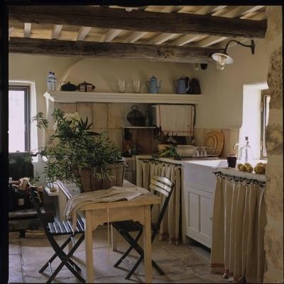 Beautiful Cucina Con Tendine Contemporary - Home Interior Ideas ...