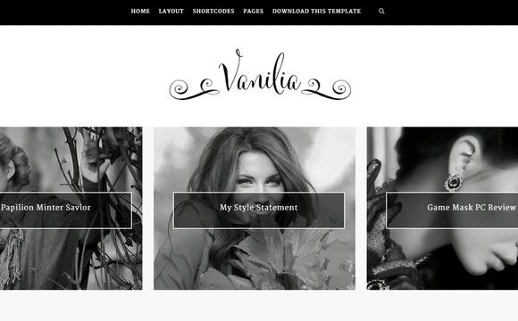 Vanilia Free Blogger Template 2015 - Msn4Free - Free Blogger Templates 2015