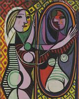 Picasso, femme miroir