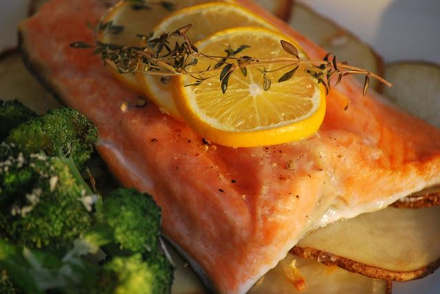 Steelhead Trout Recipe I served the steelhead trout