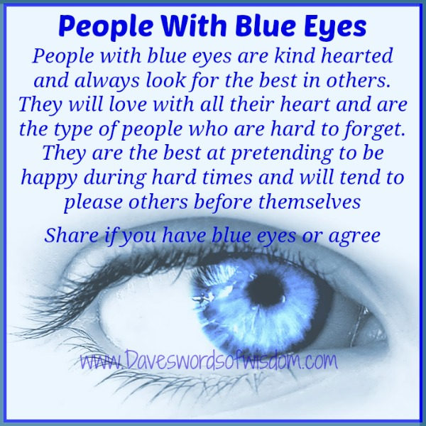 blue green eyes meaning