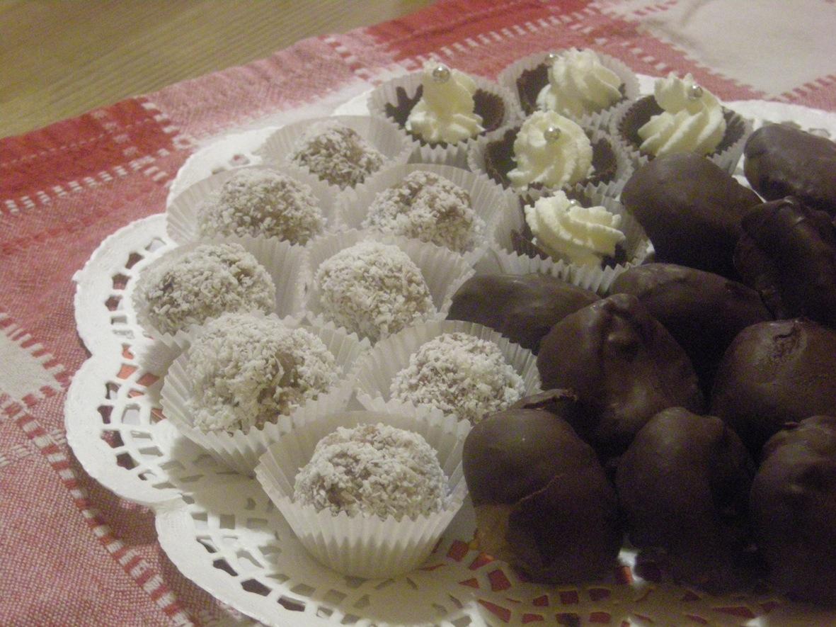 Tris di piccoli dolci for Siti ricette dolci