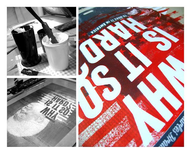 sérigraphie 3 couleurs papier Lana 160gr 25 ex. tirée au CCGP Nancy