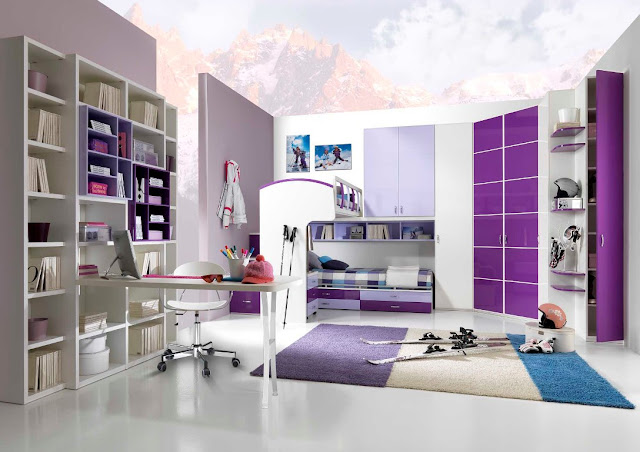 id e de chambre ado fille chambre de fille. Black Bedroom Furniture Sets. Home Design Ideas