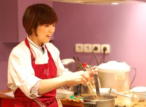 Foodi blog reportage du anyremag voyage gourmand chez - Cours cuisine japonaise ...