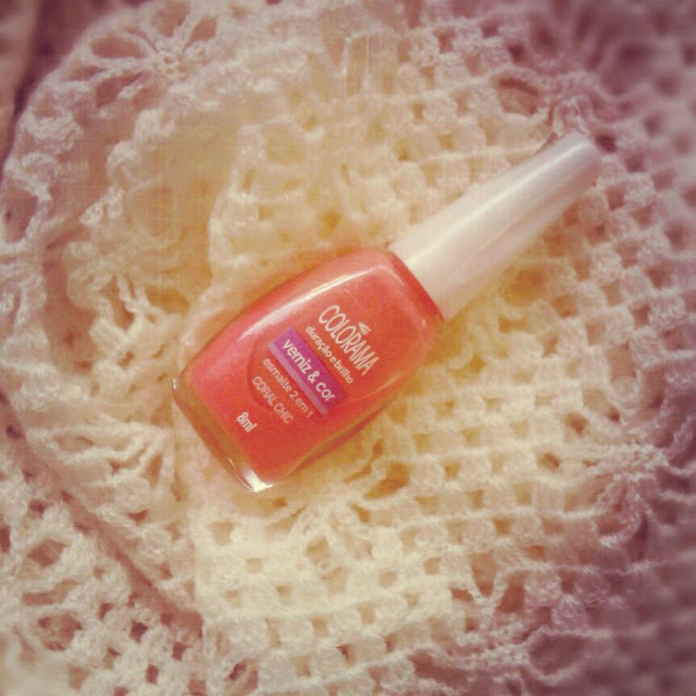 Maybelline Colorama Coral Chic, maybelline coral chic, colorama coral chic