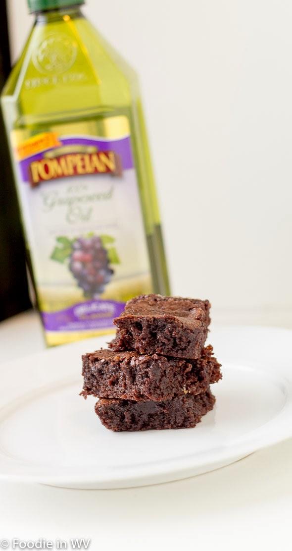 Gluten Free Grapeseed Oil Brownies