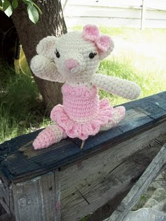 Crochet Ballerina Bear Free Pattern : 2000 Free Amigurumi Patterns: Arabella Ballerina Bear