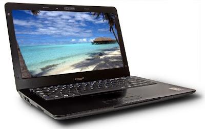 Hoverboard X30 Netbook from ZaReason ubuntu 11.04