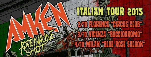 ΑΜΚΕΝ: Νέο Video-Κάλεσμα στην Ιταλική τους Περιοδεία