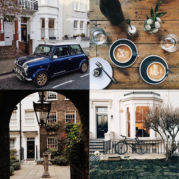 My favorite Instagrams from London