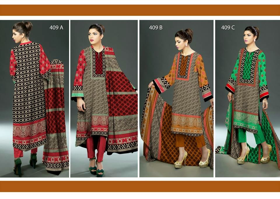 Soughat Summer Lawn 2015 Collection by Ajwa Textile