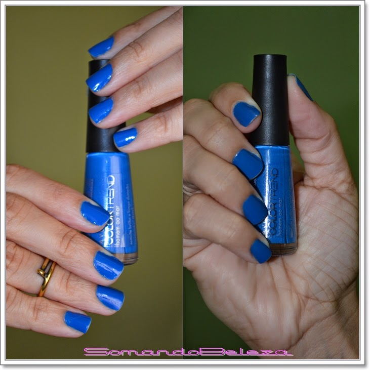 Esmalte Azul, Avon Homem ao Mar, Color Trand, Dalí, Linda Linda