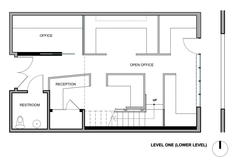 El plan z arquitectura jones haydu oficinas de buck o for Oficinas administrativas planos