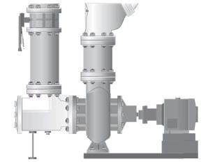 Titan suction diffuser installation