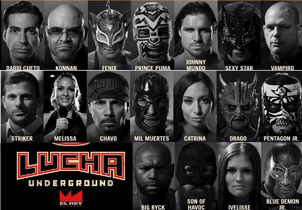 Lucha Underground wrestlers photos