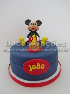 bolo mickey doces opções