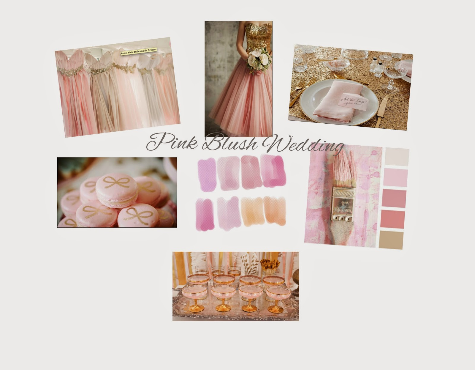 What Color Goes Good With Pink wedding wednesdays: color theme | rd's obsessions