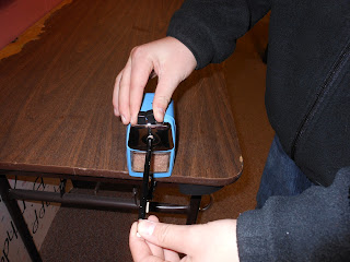 Quiet Pencil Sharpener for Teachers www.hungergameslessons.com