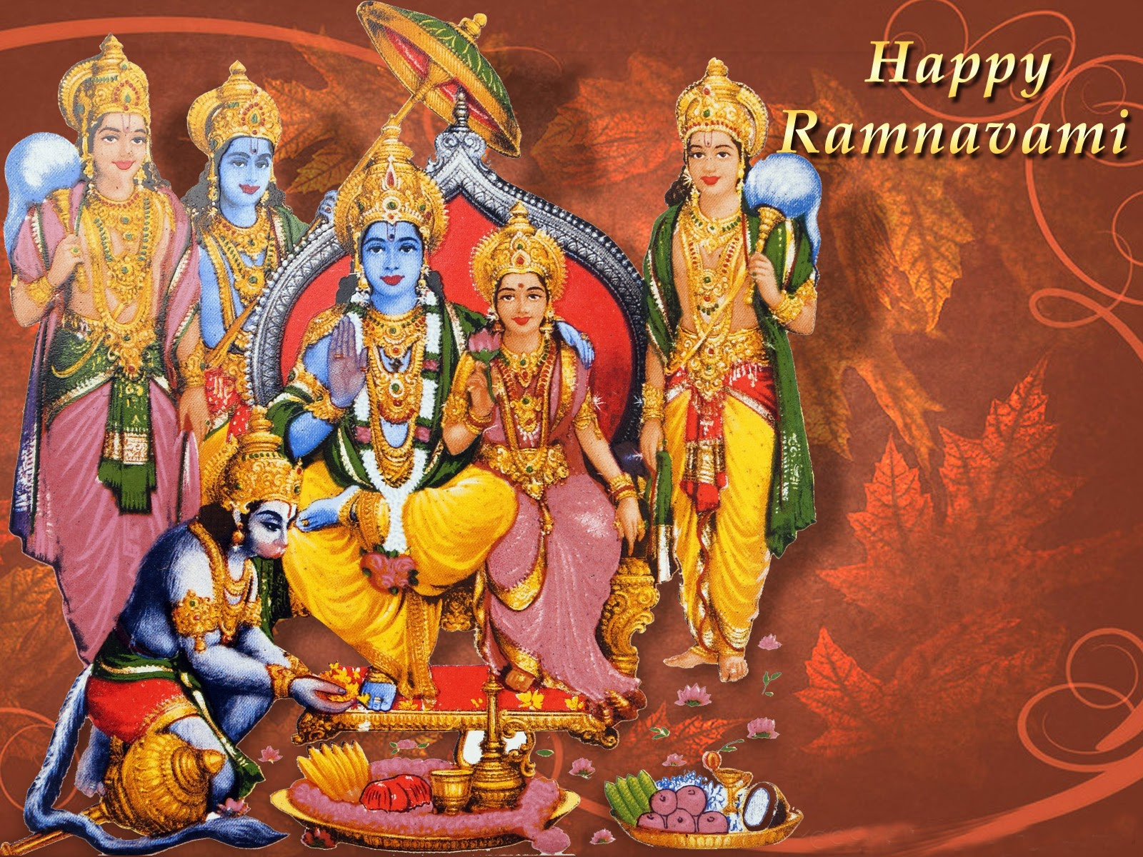 Happy Sri Rama Navami Greetings Hd Wallpapers Sms Images Messages