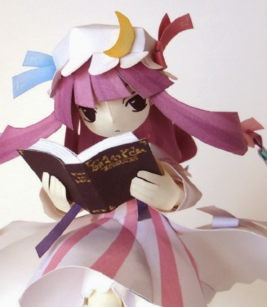 Touhou Project Patchouli Knowledge Papercraft