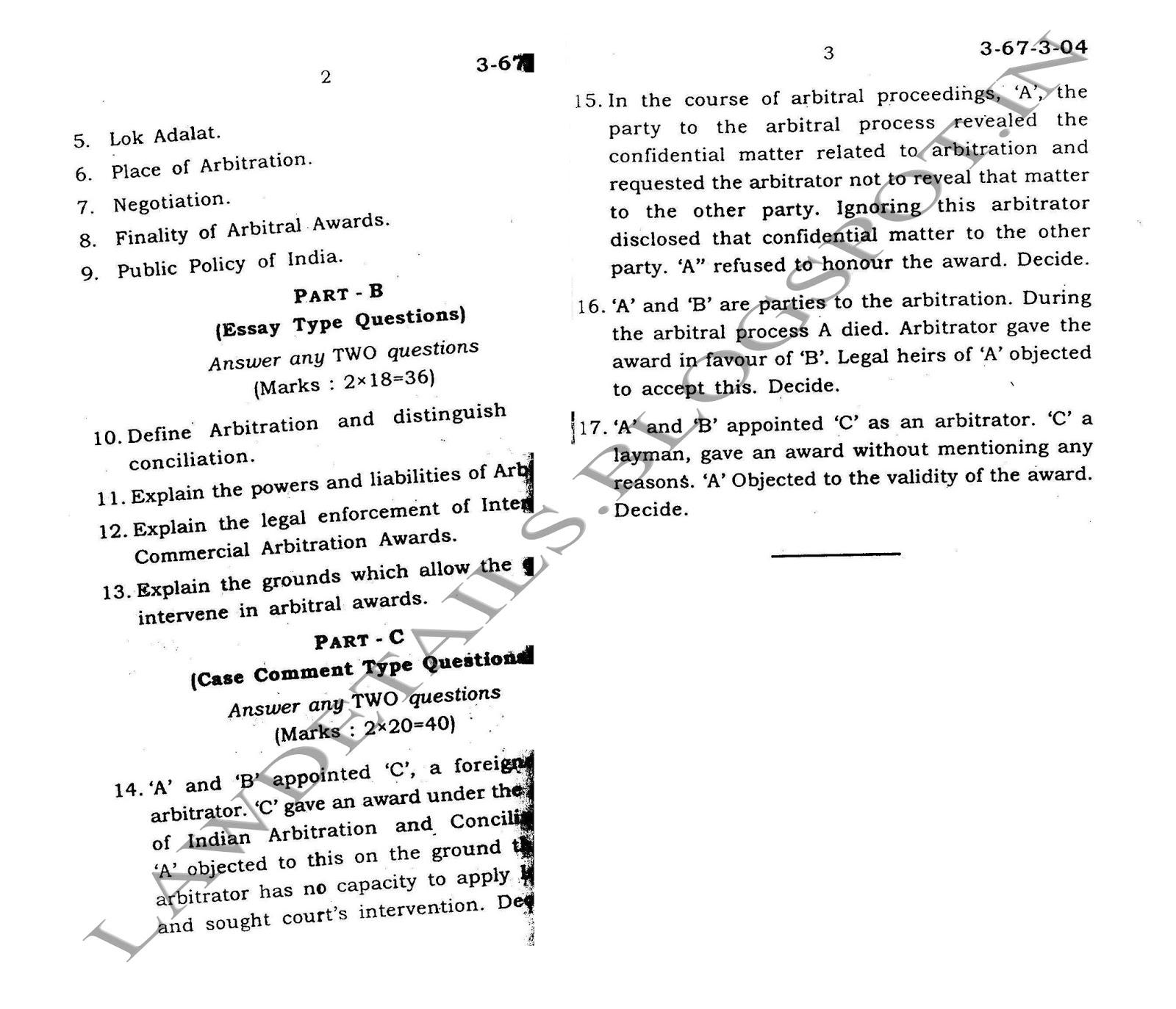 lawdetails pot in alternate dispute resolution sv dec 2003 page 2 3