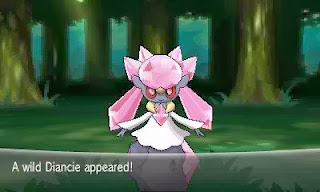Secret Pokemon Diancie
